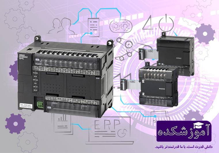 کارت توسعه ی پی ال سی PLC امرن Omron مدل CP1L