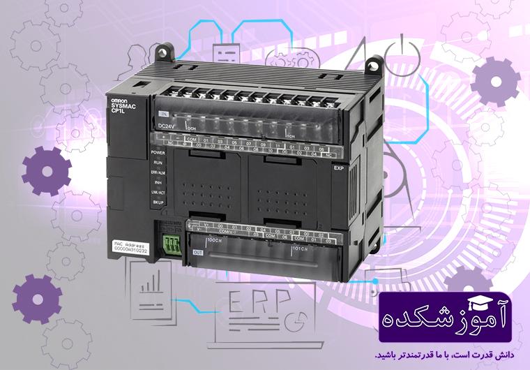 پی ال سی PLC کامپکت امرن Omron مدل CP1L