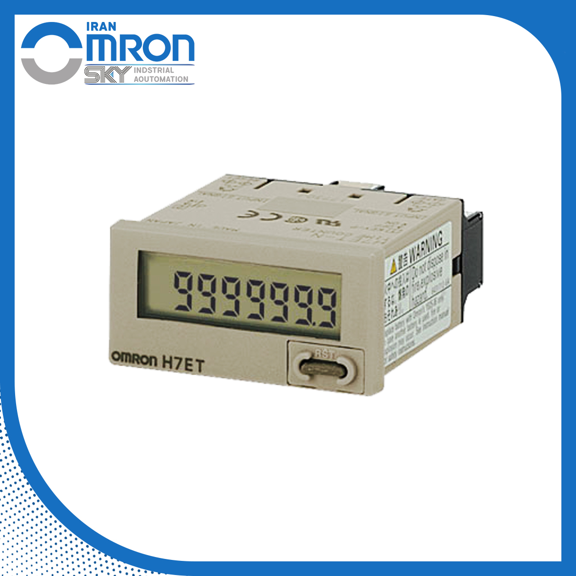 OMRON H7ET Counter شمارنده H7ET امرن