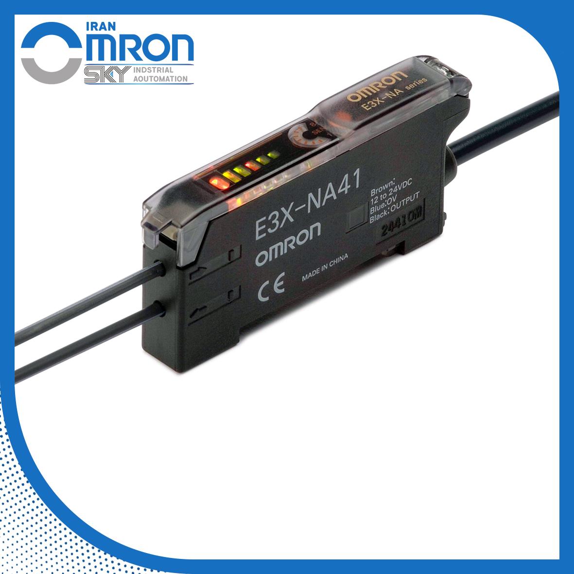 آمپلی فایر سنسور فیبر نوری E3X-NA امرن omron