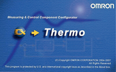 نرم افزار CX-Thermo امرن omron